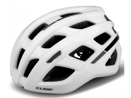 Šalmas Cube Road Race white