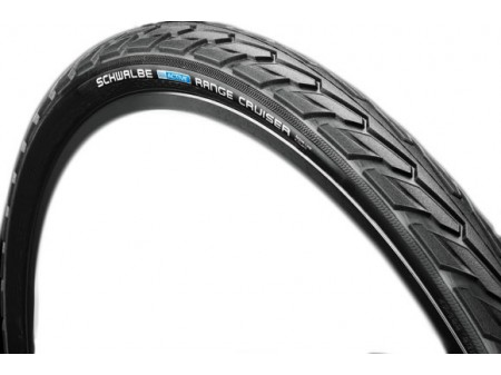 "Padanga 28"" Schwalbe Range Cruiser HS 457, Active Wired 40-622 Black"