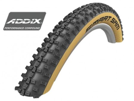 "Padanga 27.5"" Schwalbe Smart Sam HS 476, Perf Wired 57-584 Addix Classic-Skin"