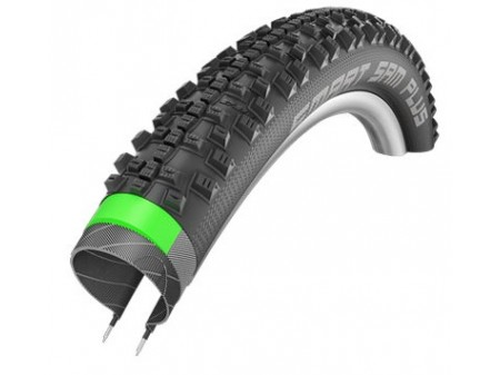 "Padanga 28"" Schwalbe Smart Sam Plus HS 476 Perf. Wired 42-622 Black"